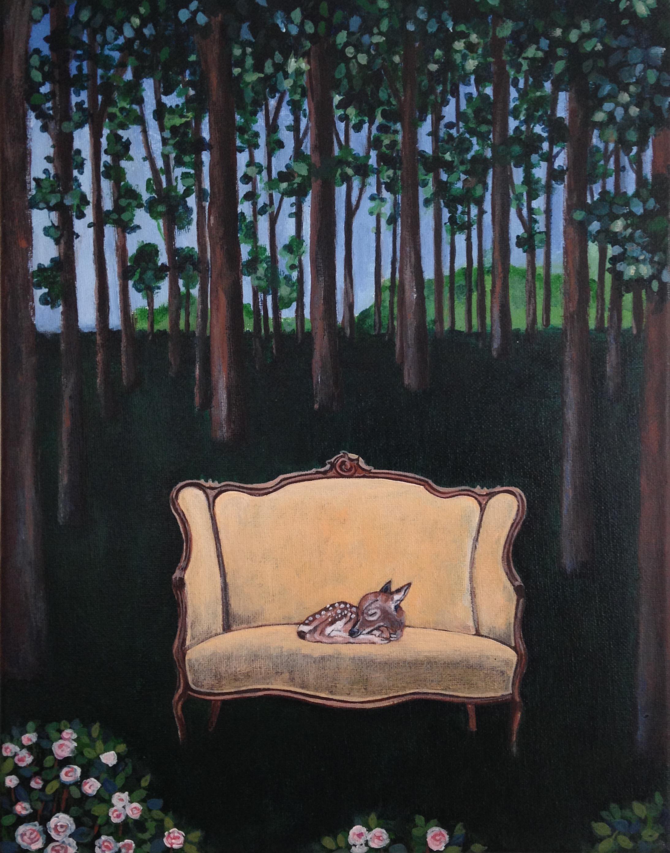 precious, 11''x14'', acrylic on canvas, 2016