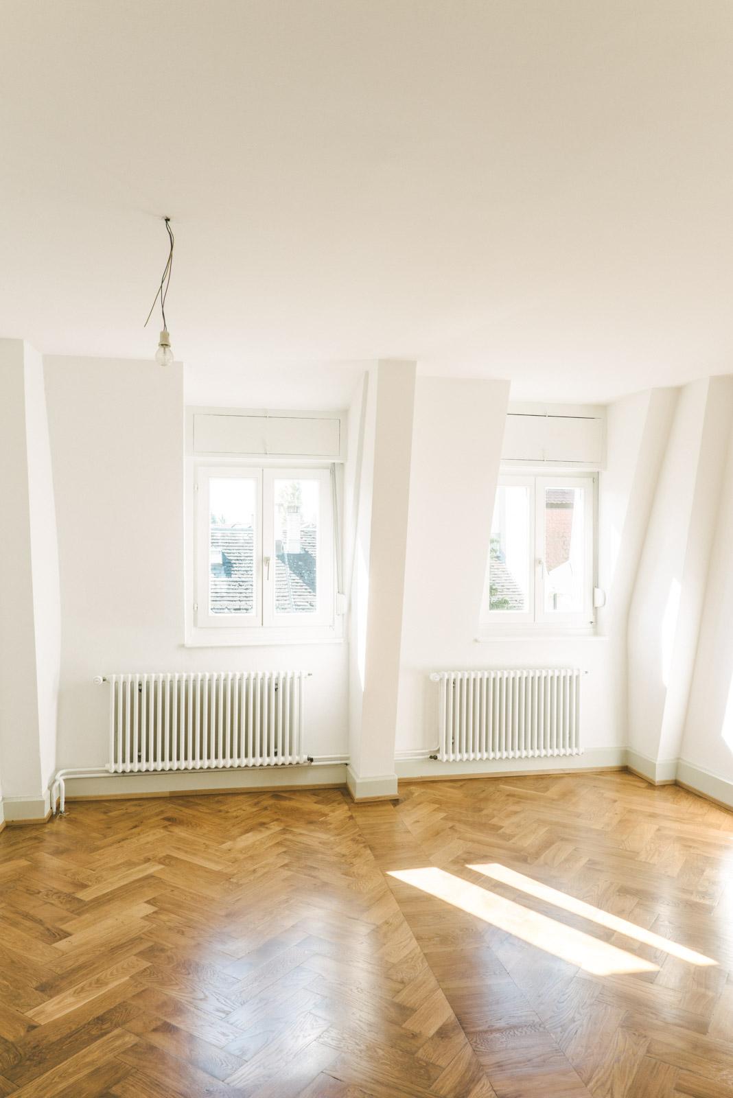 Umbau MFH Basel Fensterfront, Consilium Architektur und Baumanagement
