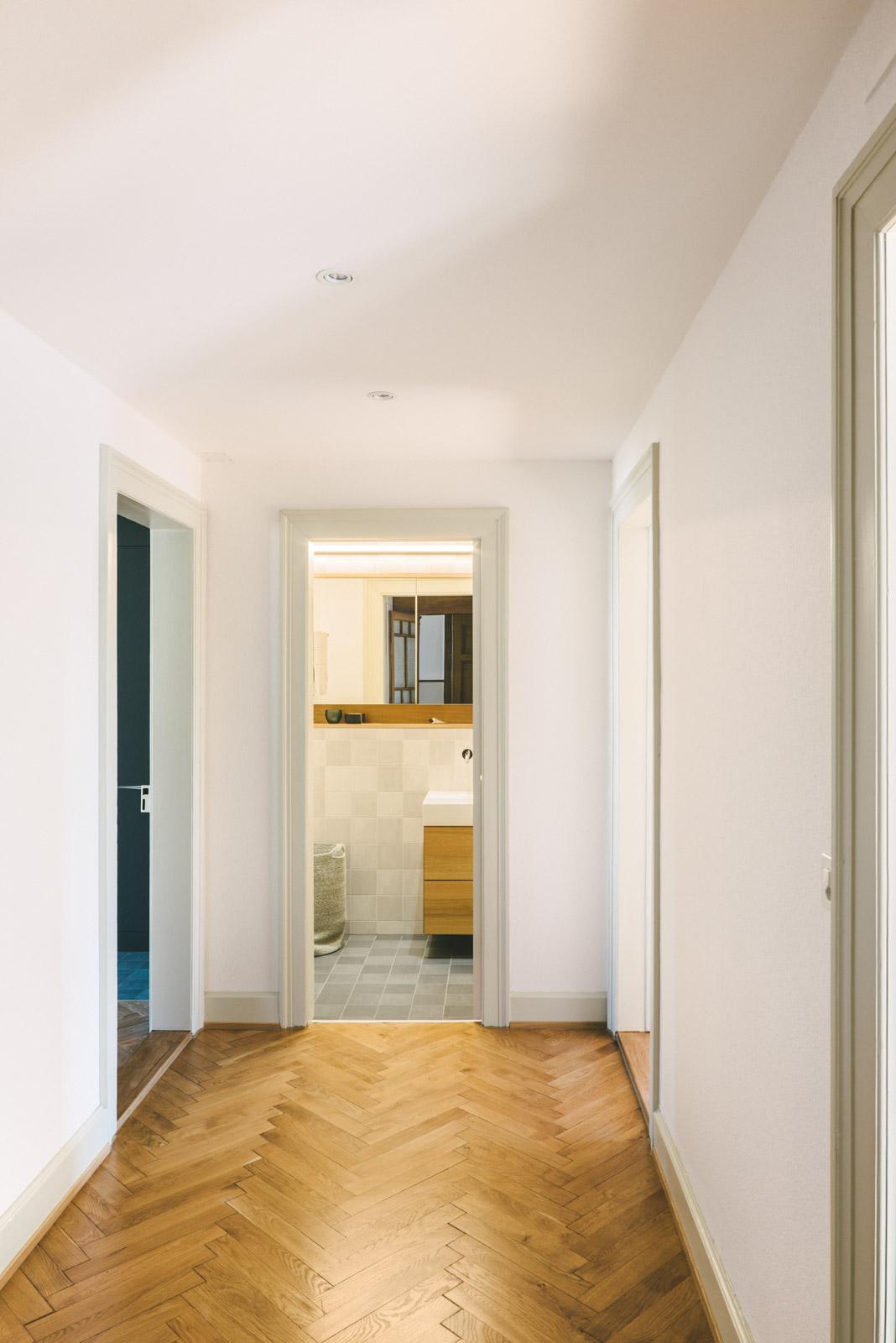 Umbau MFH Basel Korridor, Consilium Architektur und Baumanagement