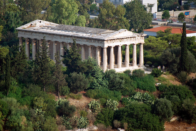 ancient agora athens greece