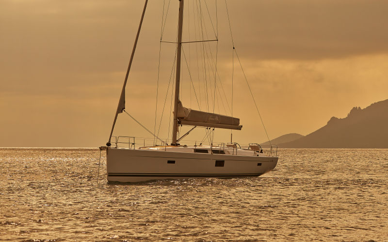 Hanse 455 sailing trip Greece