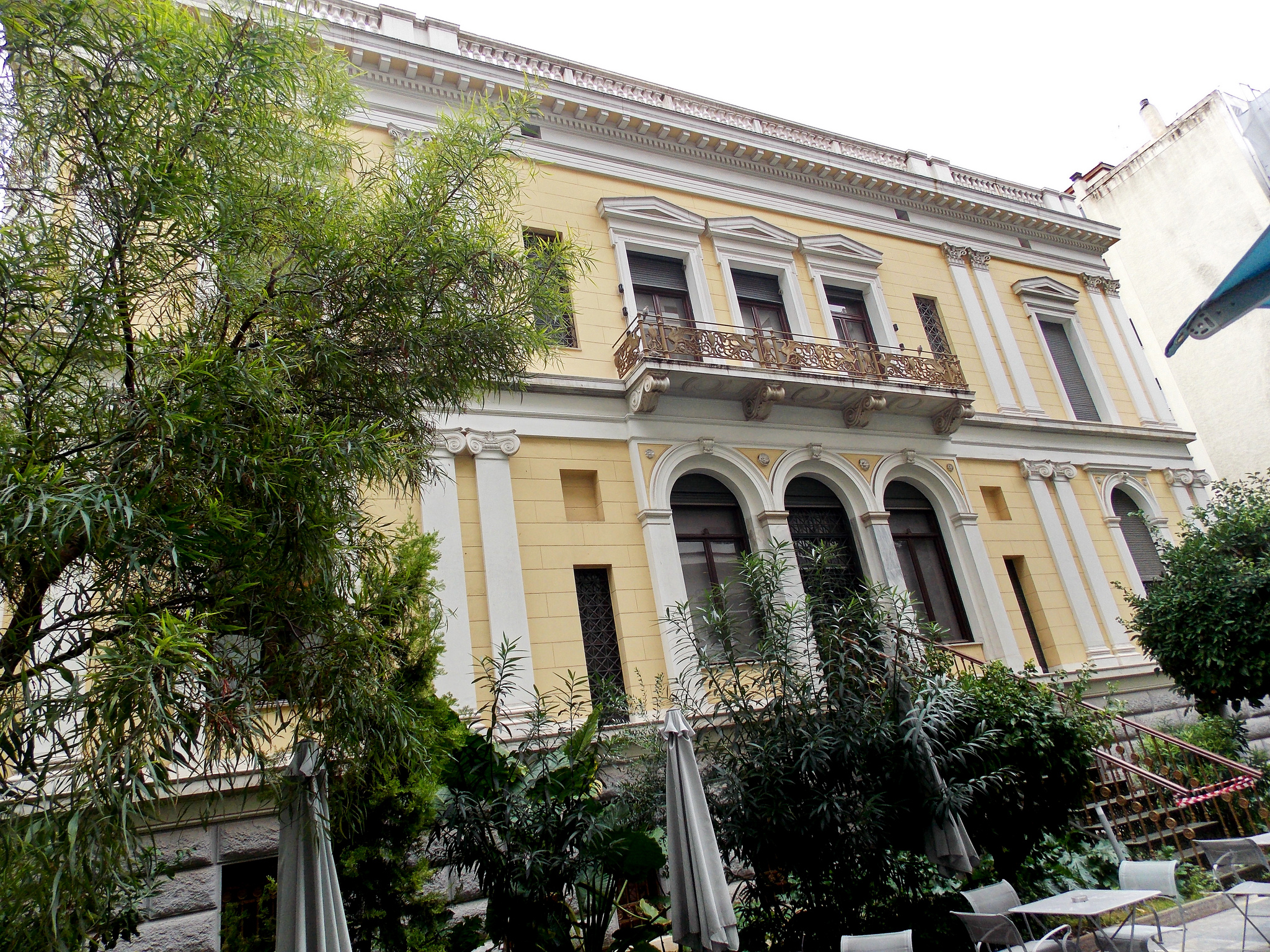 In the garden of the Numismatic Museum of Athens (Picture by Dimitris Kamaras @ Flickr)