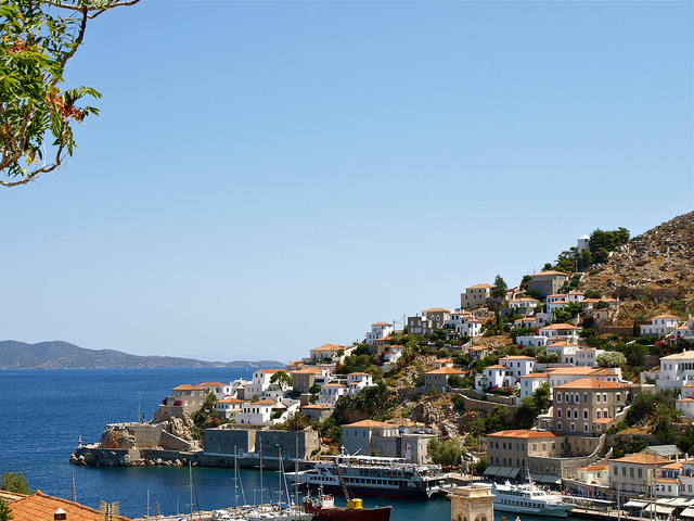 The charming island of Hydra close to Athens (Picture by Katherine Poseidon)