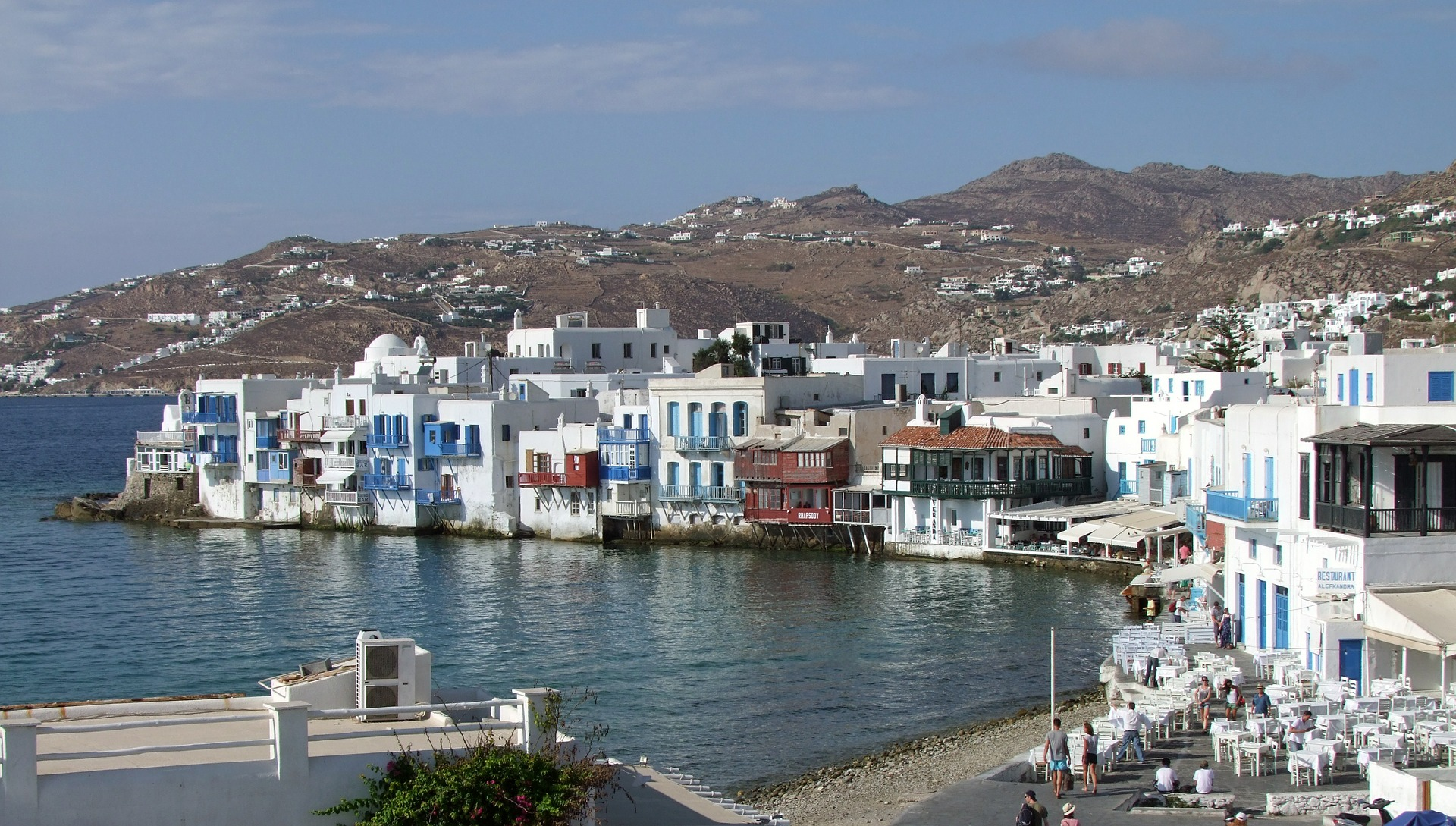 Mykonos is a world-famous Greek island in the Cyclades (Picture by Laborratte/Pixabay)