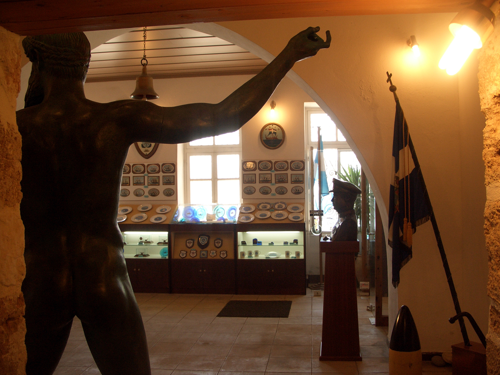 Inside the Maritime Museum of Chania (Picture by Martin Balem/Flickr)