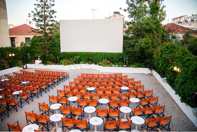 Attikon open air cinema in Chania (Picture via Attikon Website)