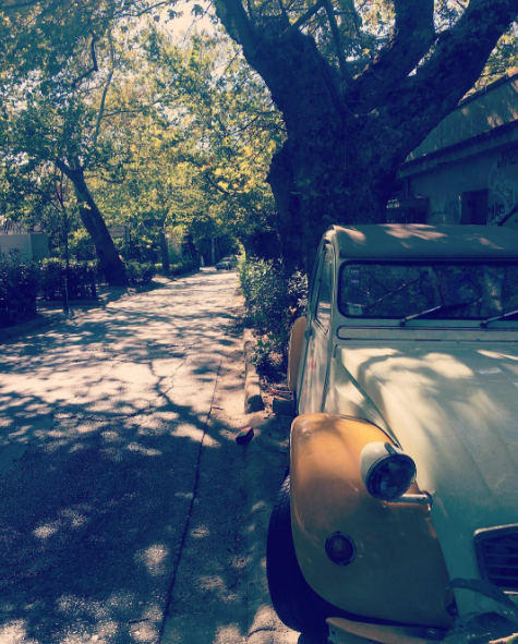 Beautiful streets of Kifissia (Picture by santaoclock/Instagram)