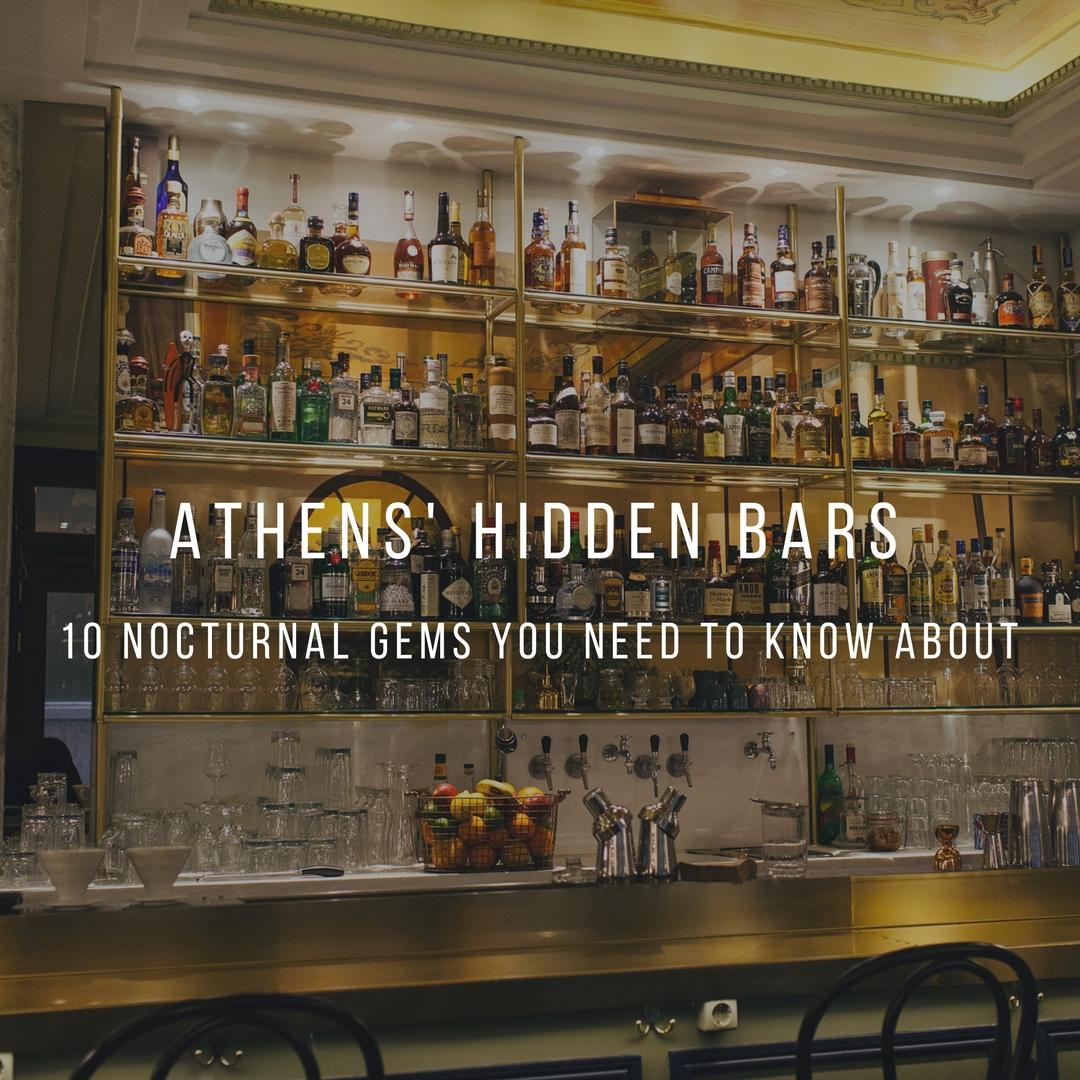hidden bars athens