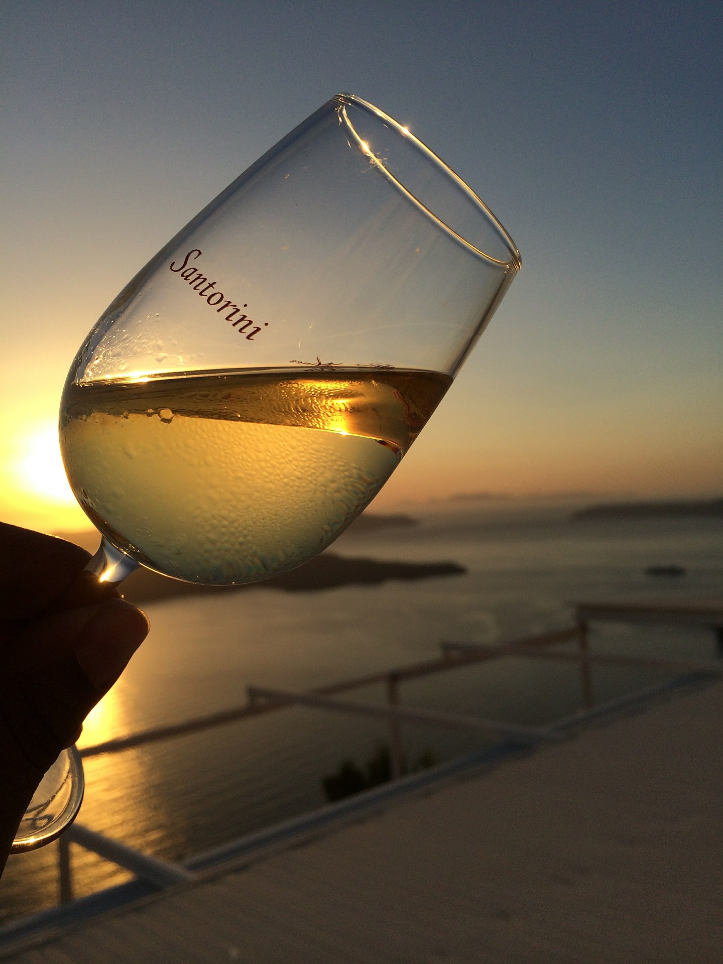 Whatever you do, do not leave this country without a sip (or bottle) of Assyrtiko Santorini wine.