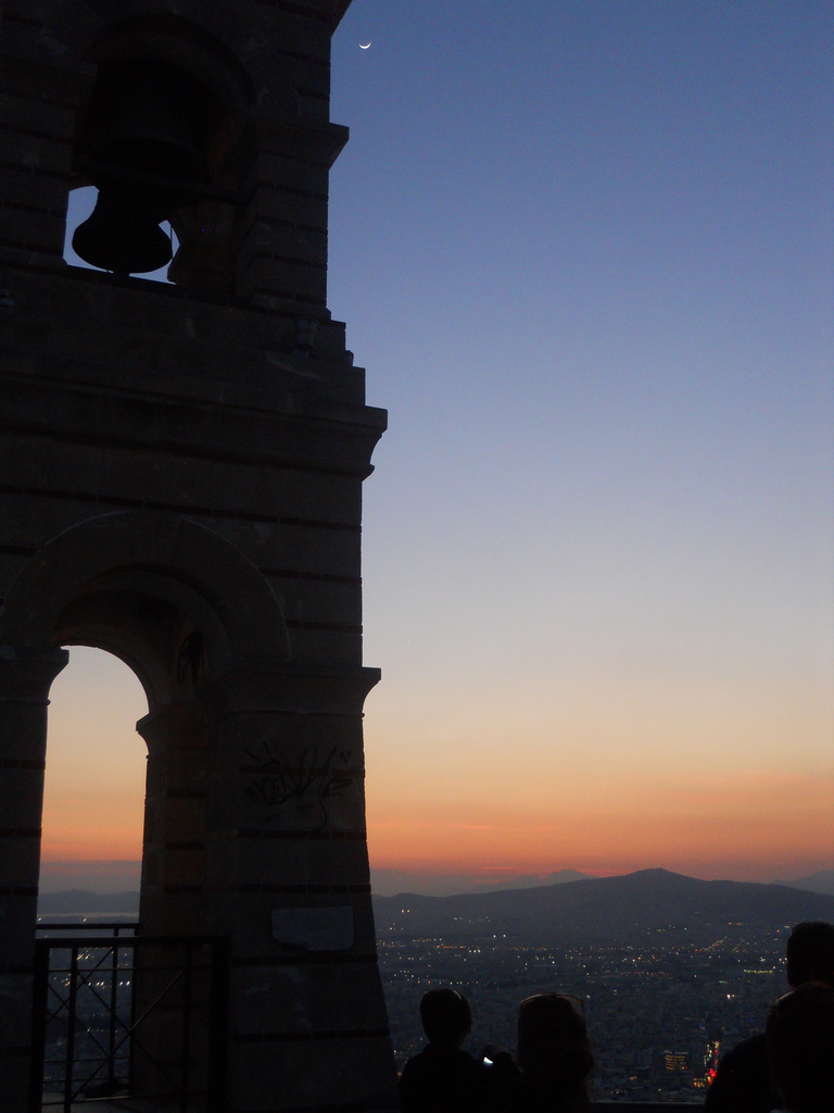 Watch the sunset fro the Lycabettus hill (Picture Erik Drost/Flickr)