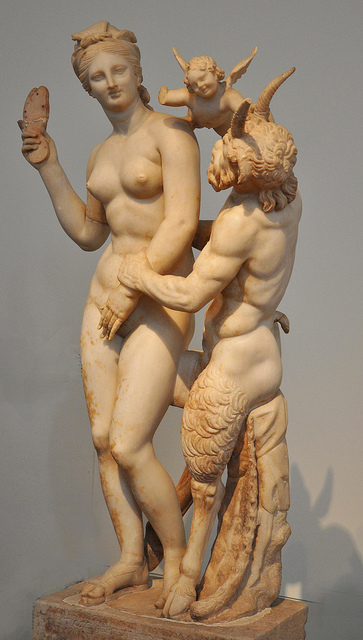The love games of Aphrodite and Pan at the National Archeological Museum of Athens (Picture Helen Simonsson / Flickr)