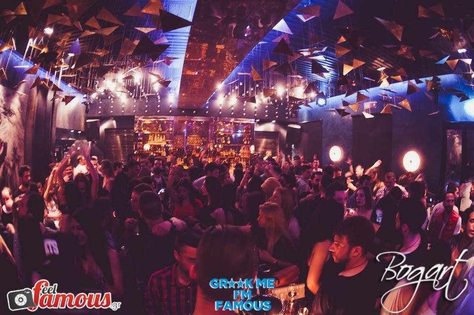 Party night at Bogart in Kolonaki (Picture by Bogart/ Facebook)