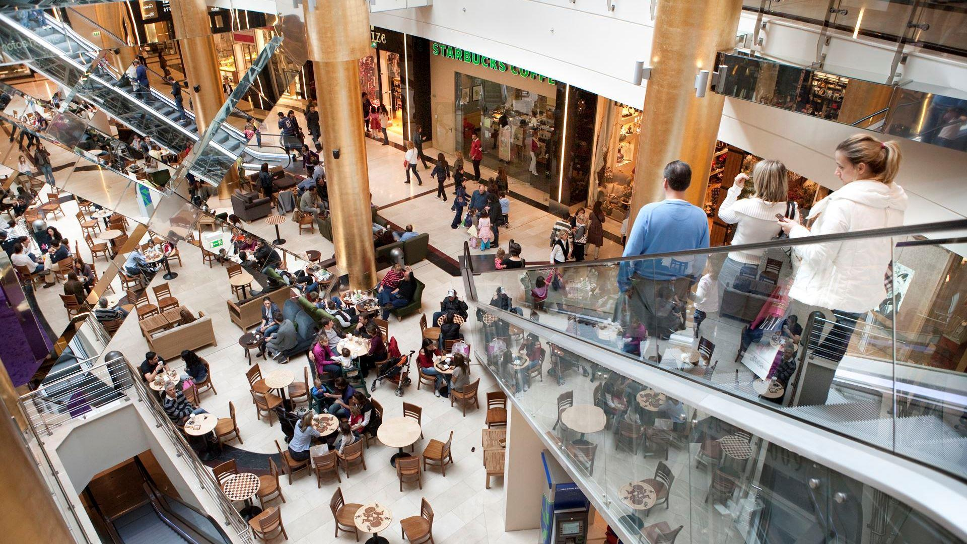 Luxurious Golden Hall mall of Athens in Marousi (Picture by Golden Hall/ Website)