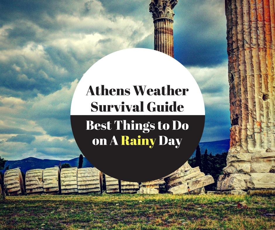 athens guide on a rainy day