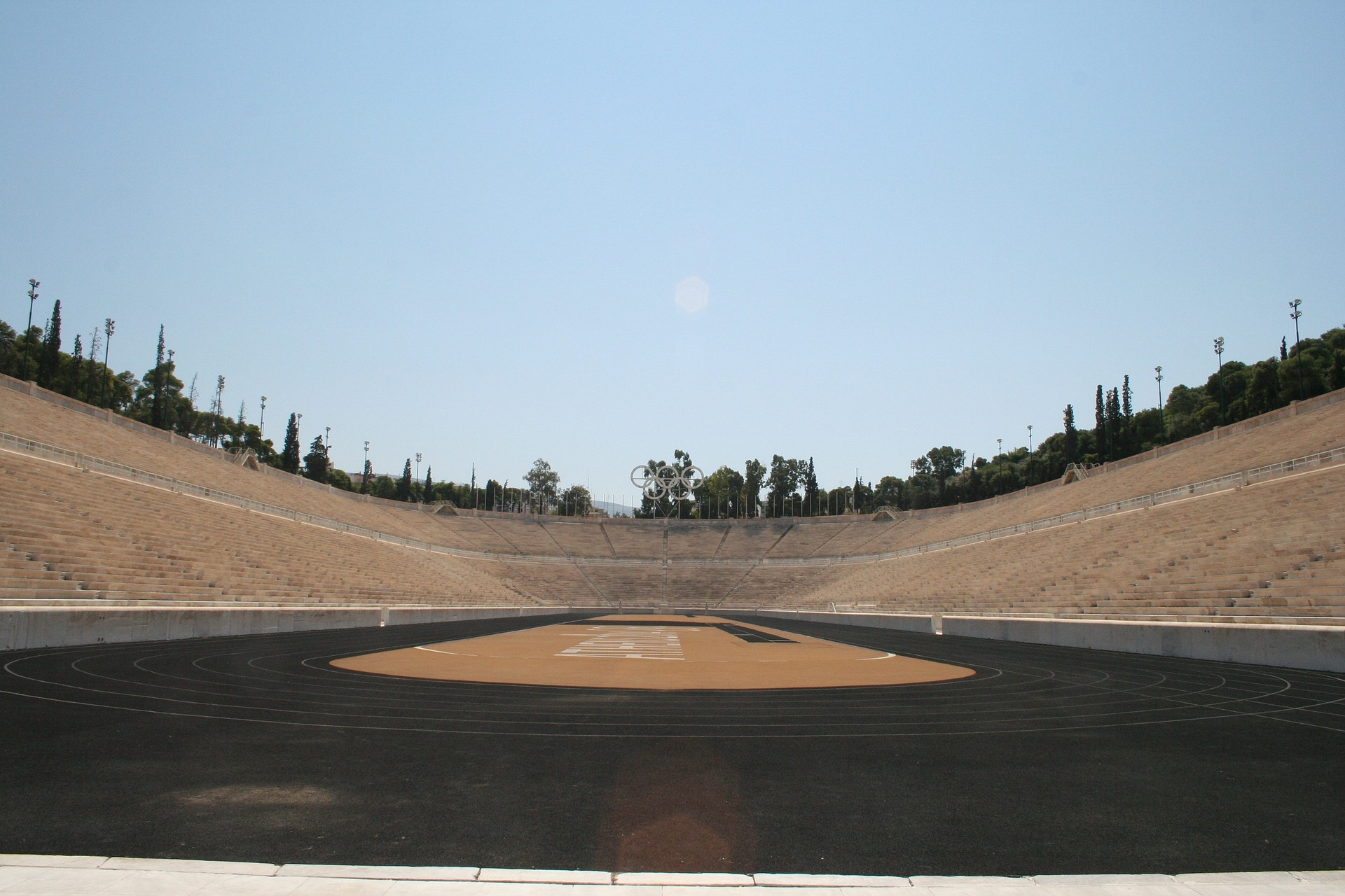 kallimarmaro panathenaic stadium athens greece