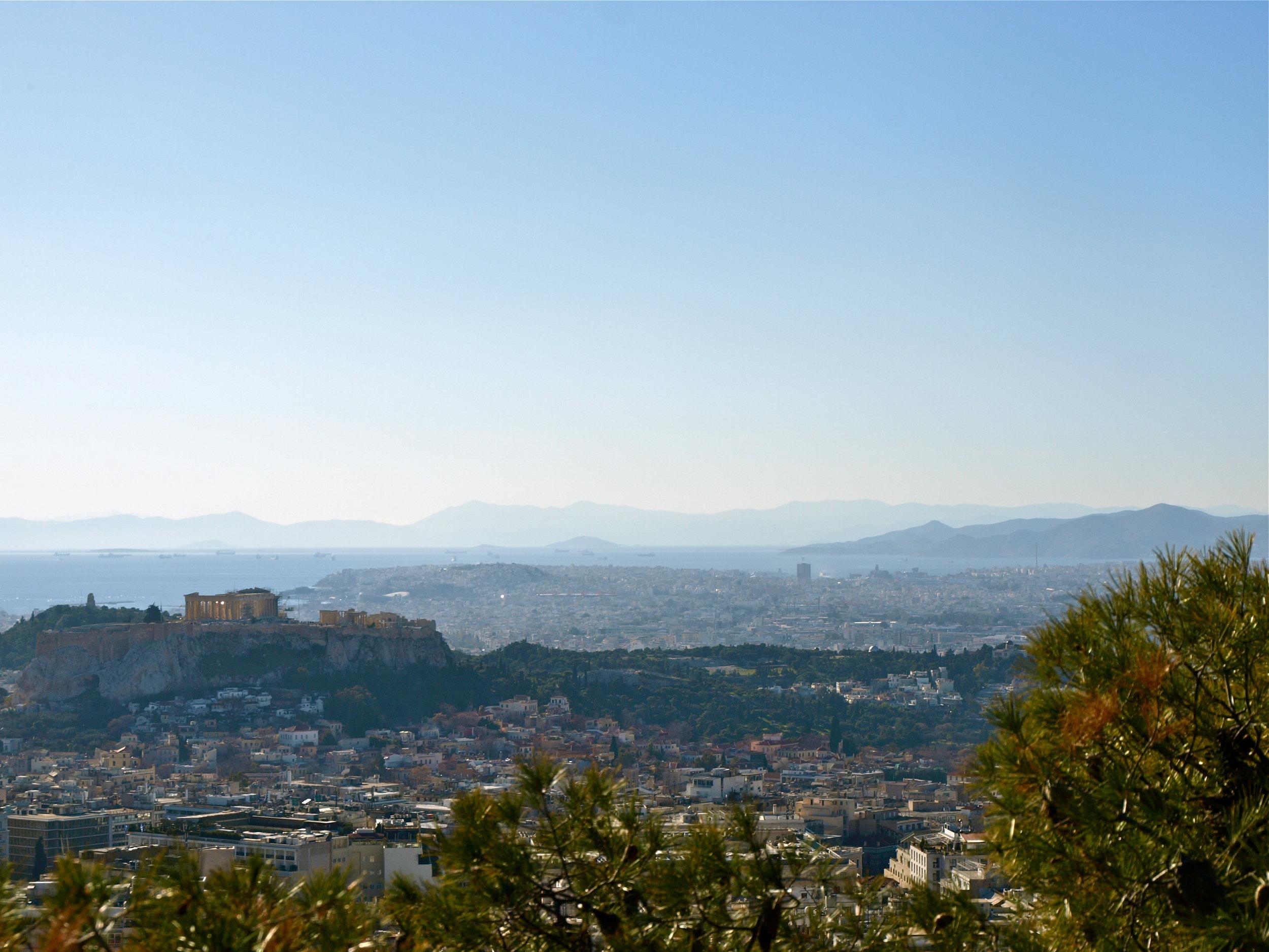 That classic Athens view (Photo by Katherine Poseidon)