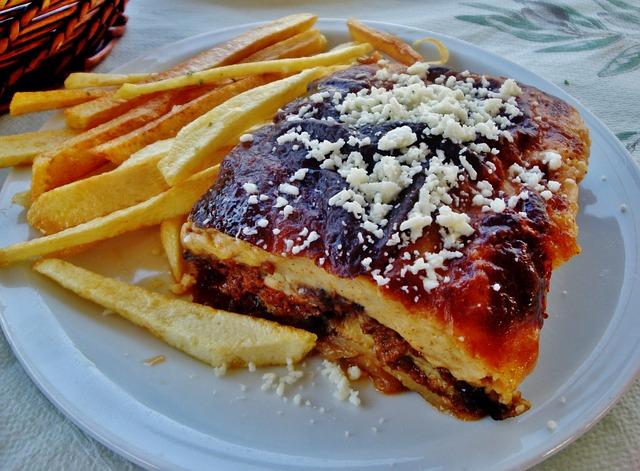Moussakas,a masterpiece of food layering!