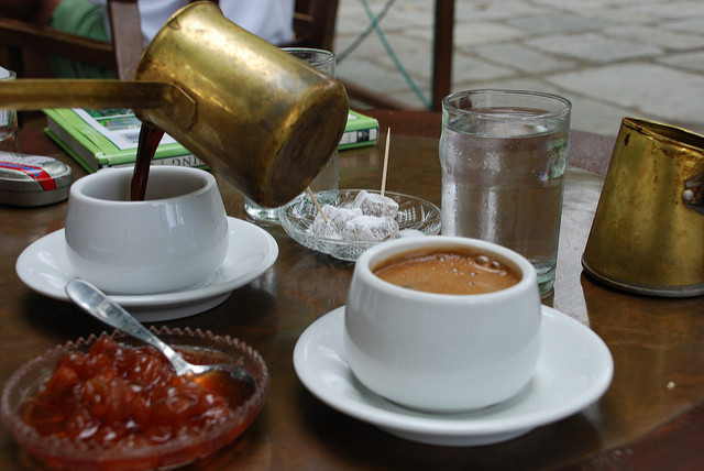 A traditional Greek 'spoon dessert' served with Greek coffee... divine! (Picture by Gio / Flickr)