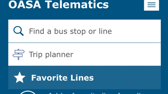 Track the next bus live from your phone with Oasa Telematics app.