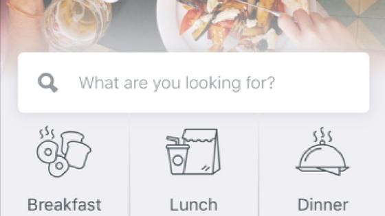 Spot the best restaurant near you through Foursquare app.