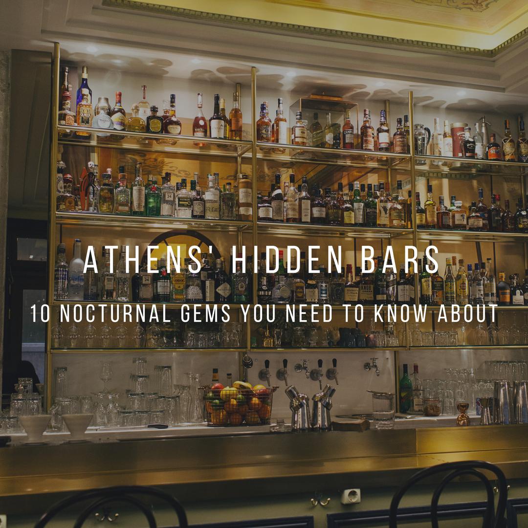 hidden bars athens greece