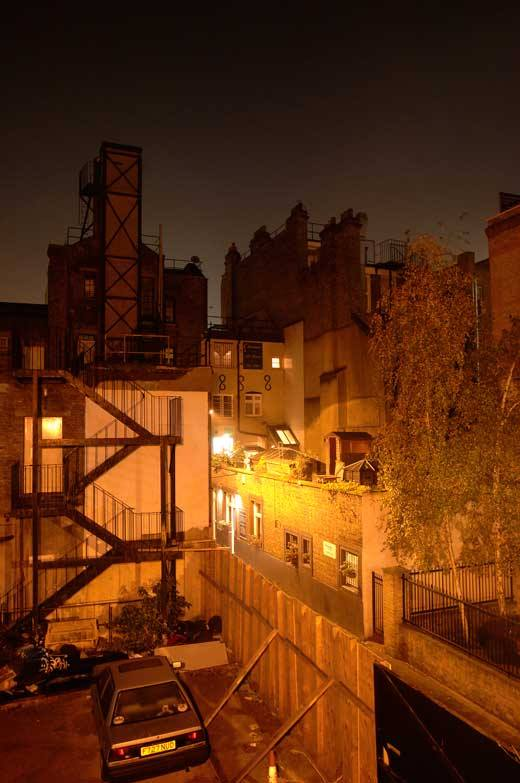 Looking down on Gunthorpe Street during the Jack The Ripper Tour in London (Picture by Jack The Ripper Tours/ Facebook)