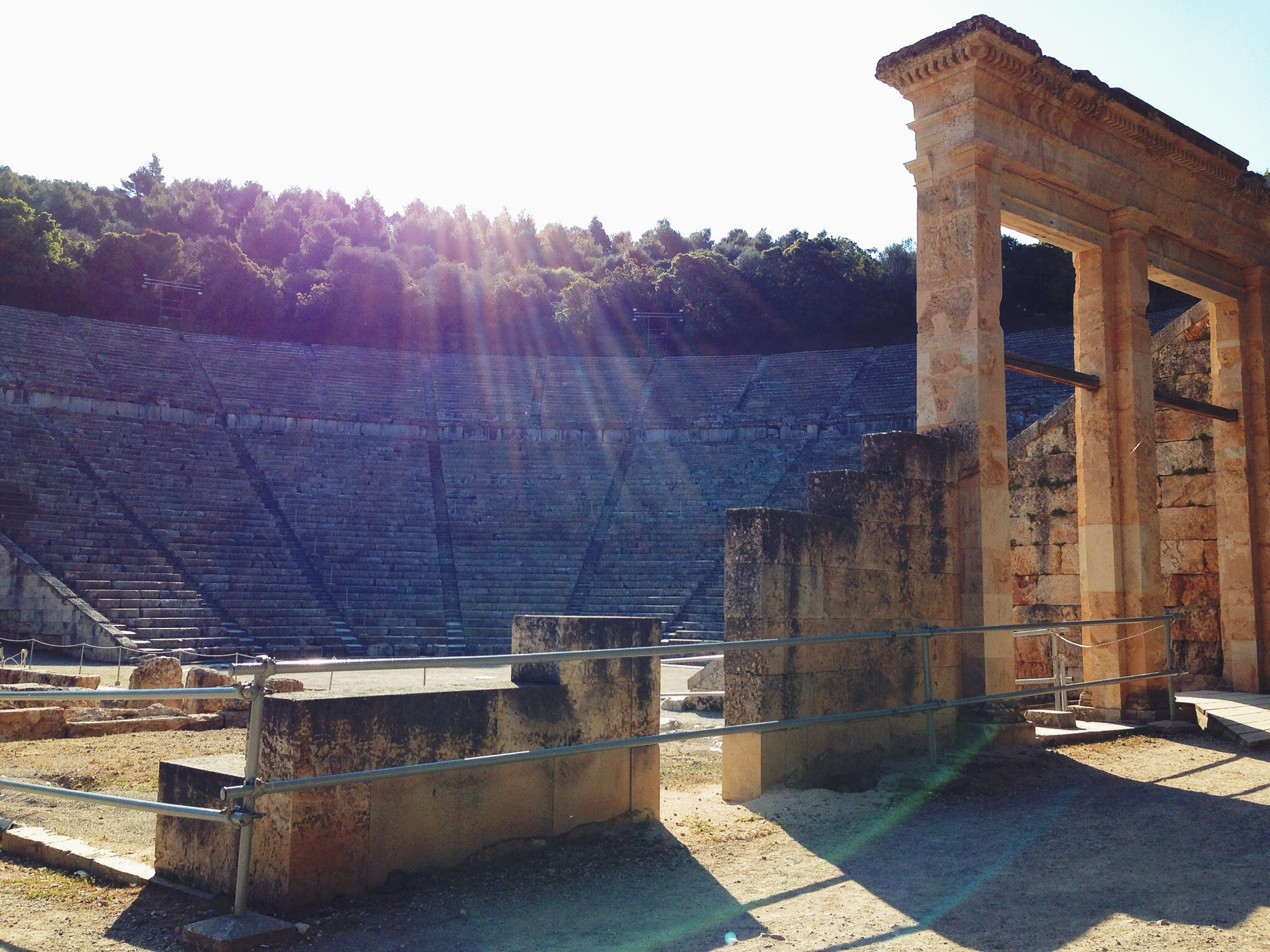The Ancient Theatre of Epidavros (Picture by Katherine Poseidon)