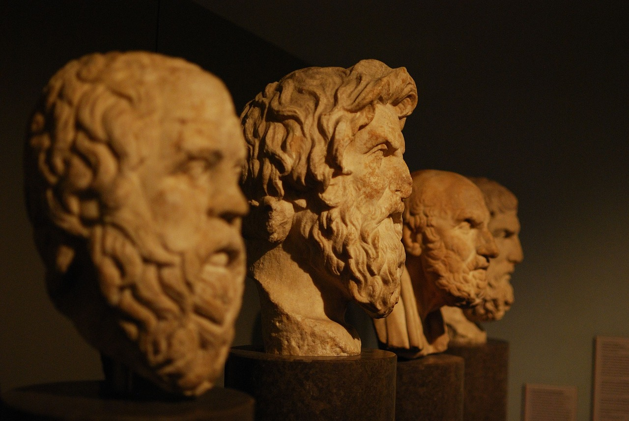 Greece is the birthplace of philosophy!