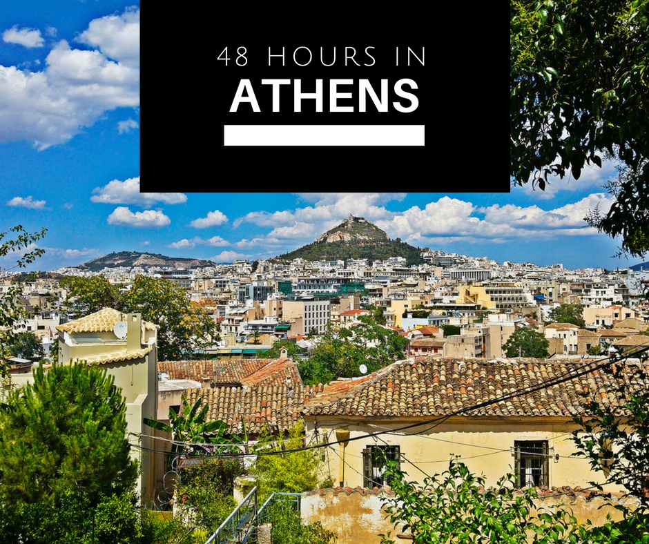 athens itinerary greece