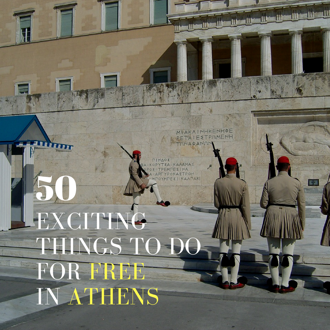 free things to do athens