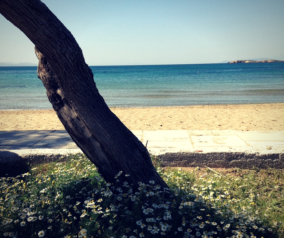 Running in Kavouri is one of our favourite things to do in Athens! (Picture by Katia Mavrikou)