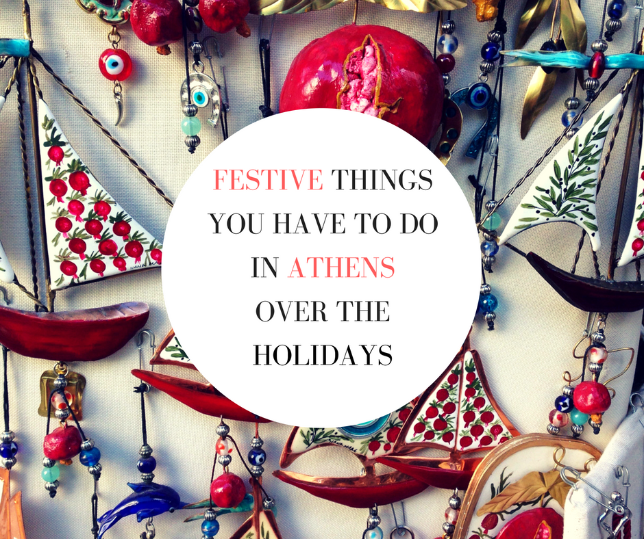 christmas in athens greece