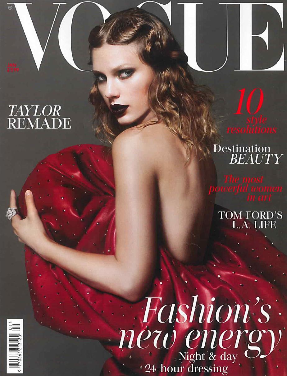 Vogue (UK), January 2018