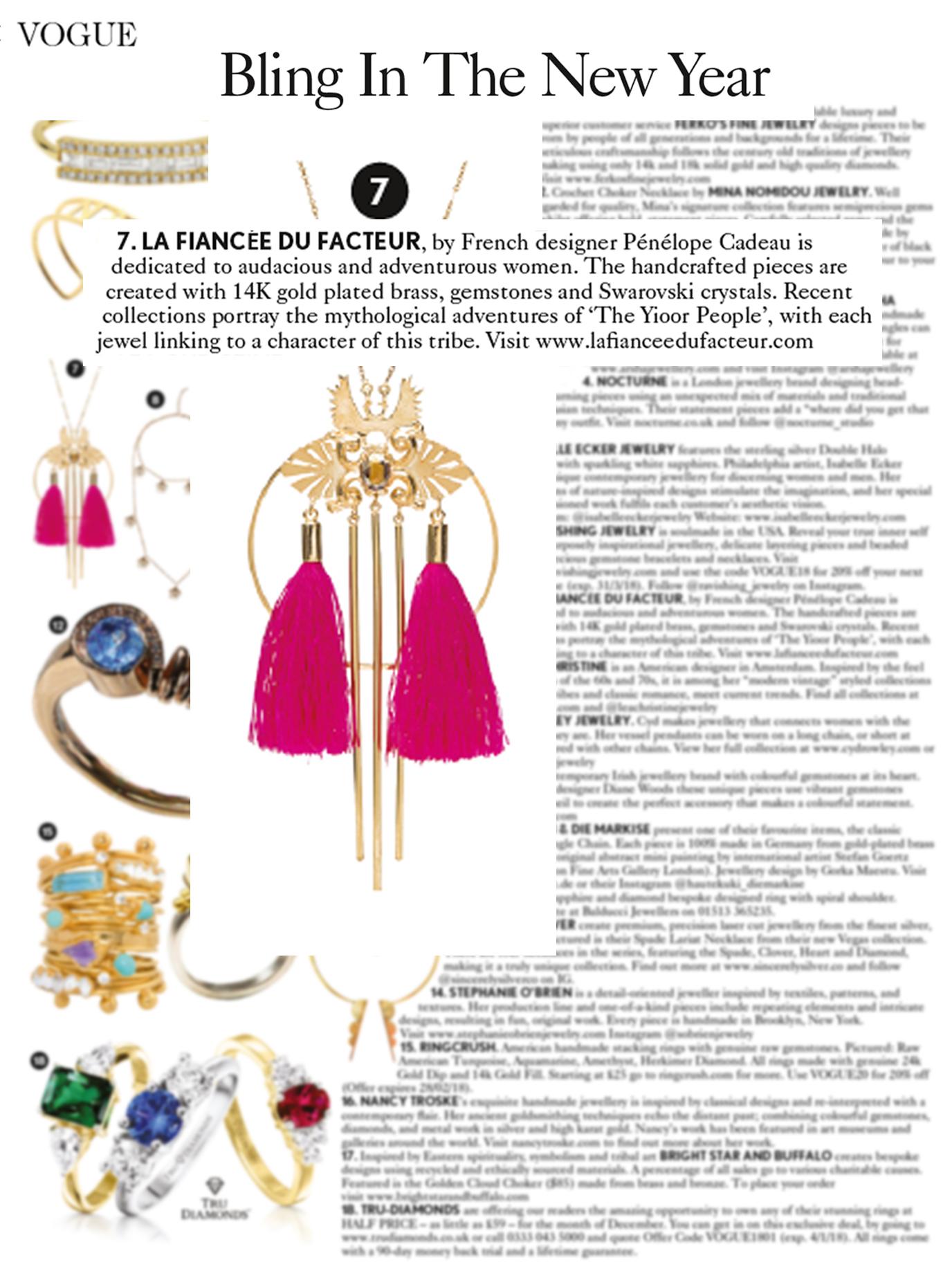Nanjiy Necklace, 2018 collection (Vogue UK)