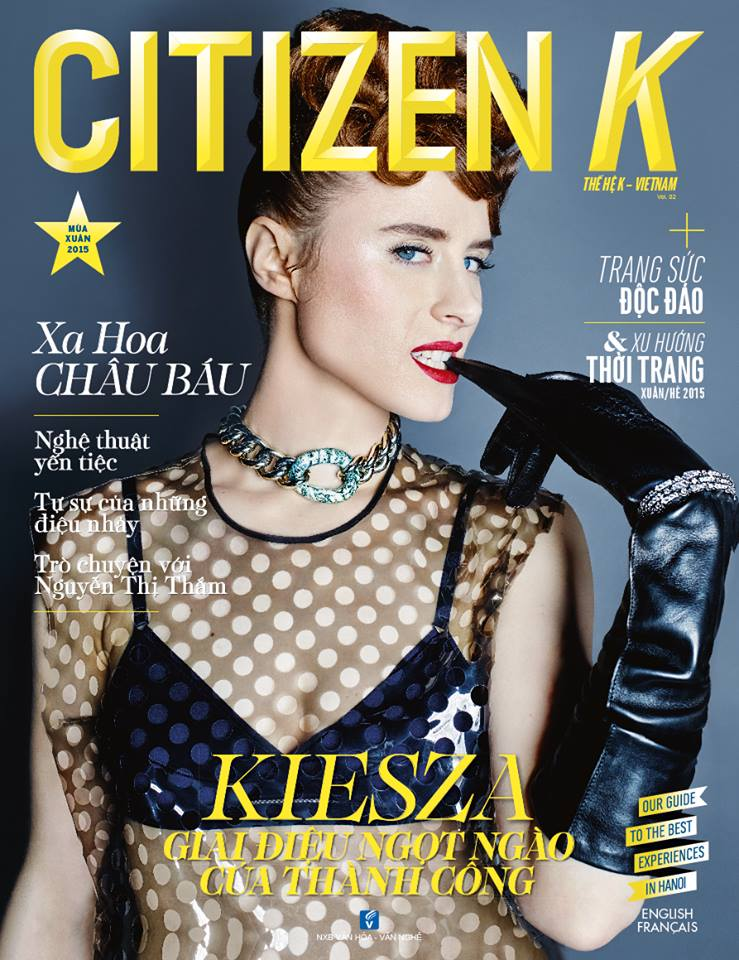 Citizen K (VietNam), April 2015