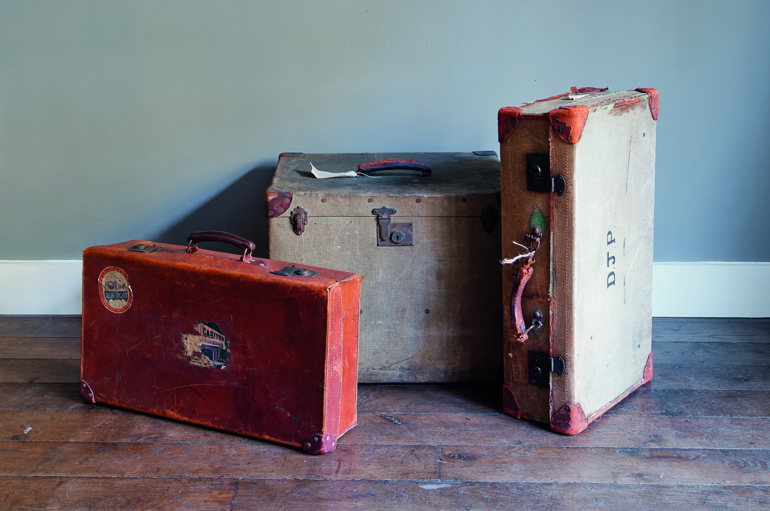 trunks, chests and amo boxes