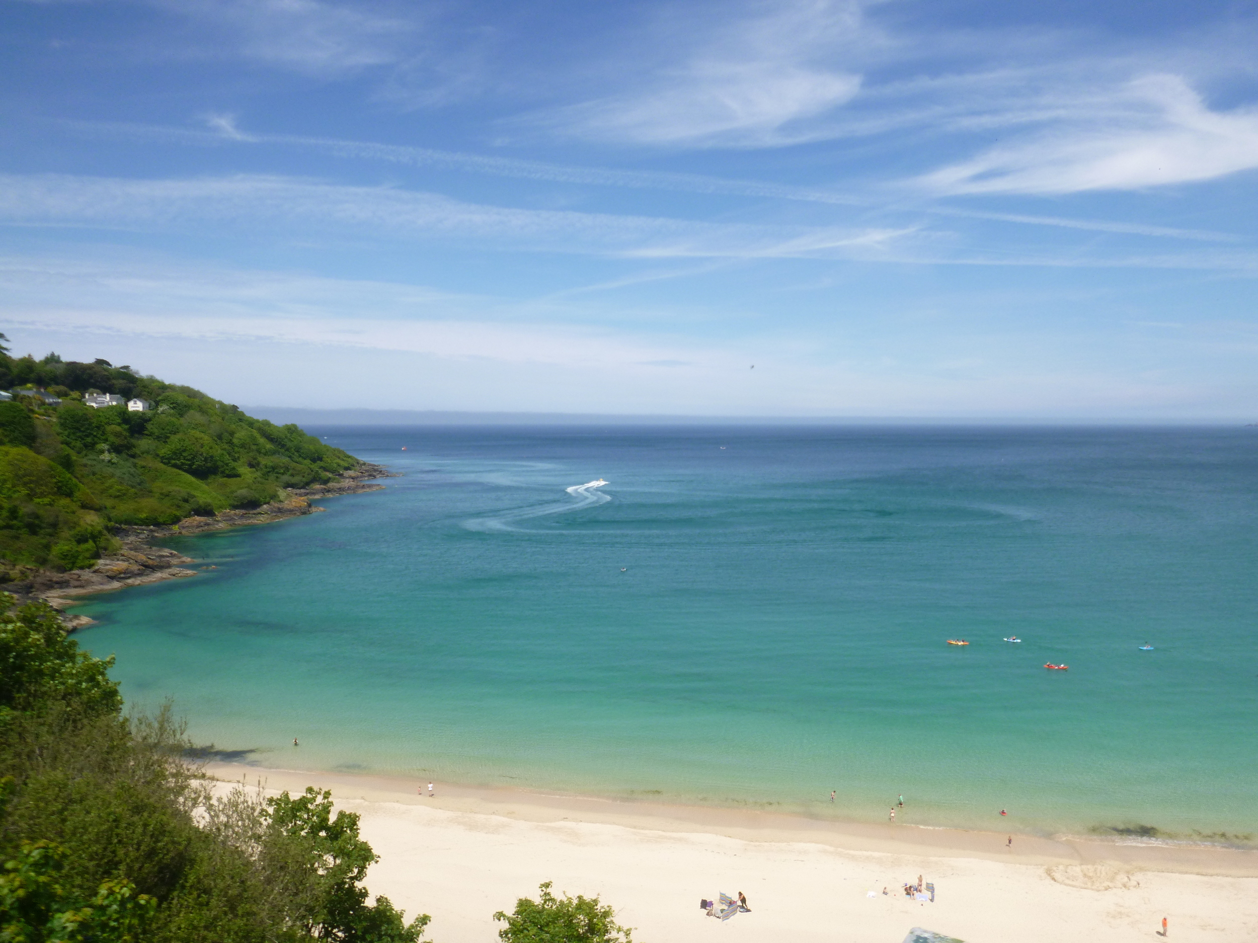 Breathtaking Carbis Bay, Cornwall SUP in a Bag Hire Rental