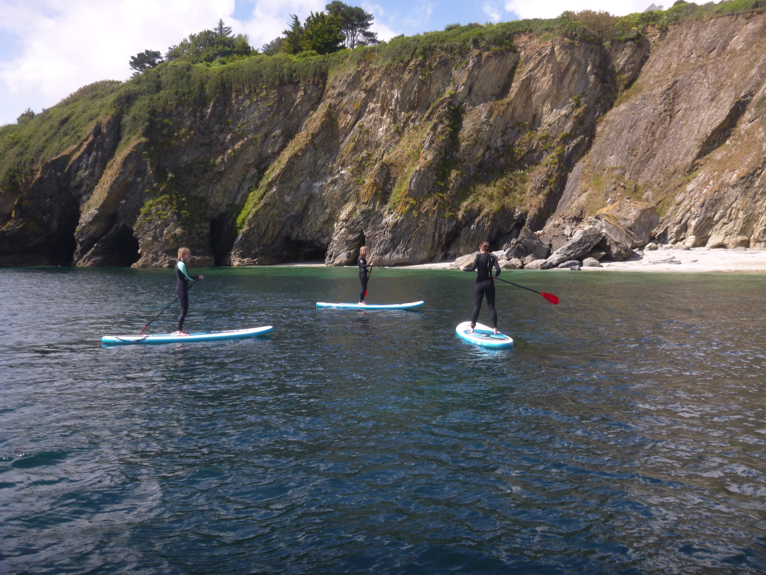 Stand Up Paddle lessons Maenporth