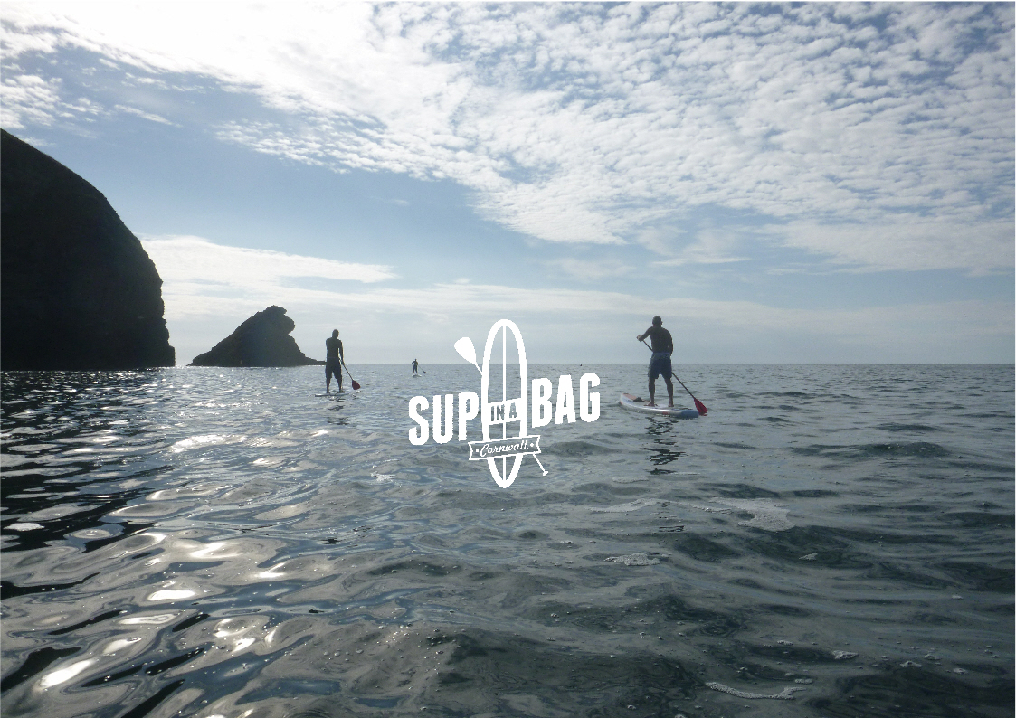 Guided Stand Up Paddleboard Tour Adventure Porthtowan to Portreath Cornwall