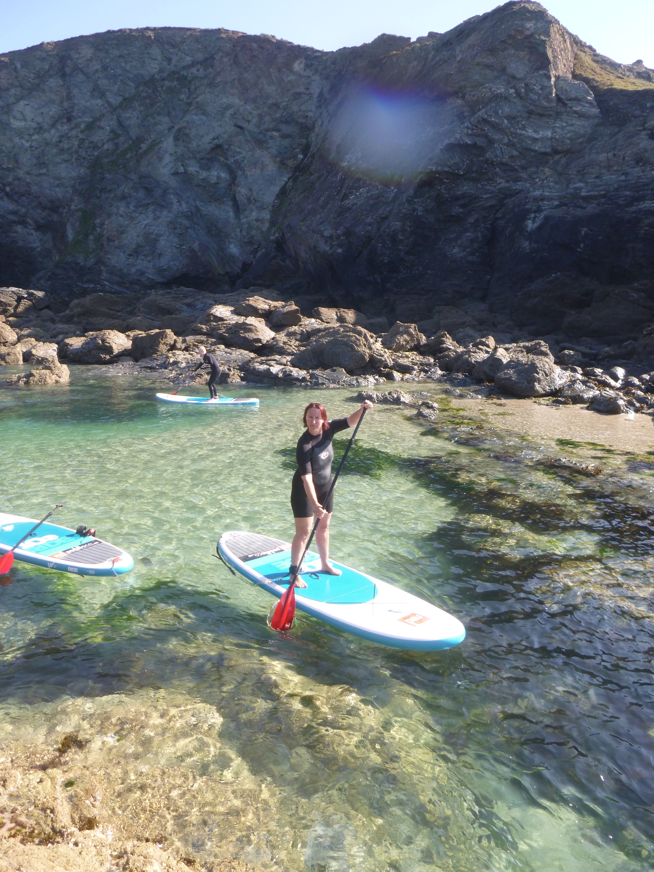 Crystal Water SUP Tour St Agnes, Cornwall