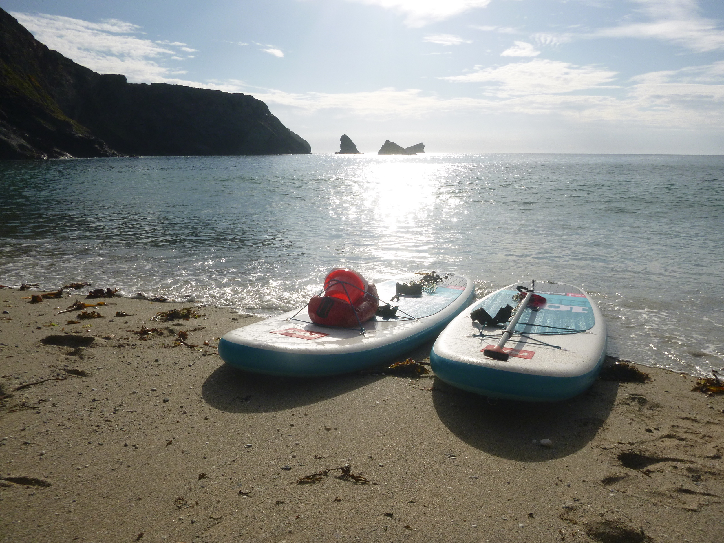 SUP Hire - Portreath - What's just around the headland?