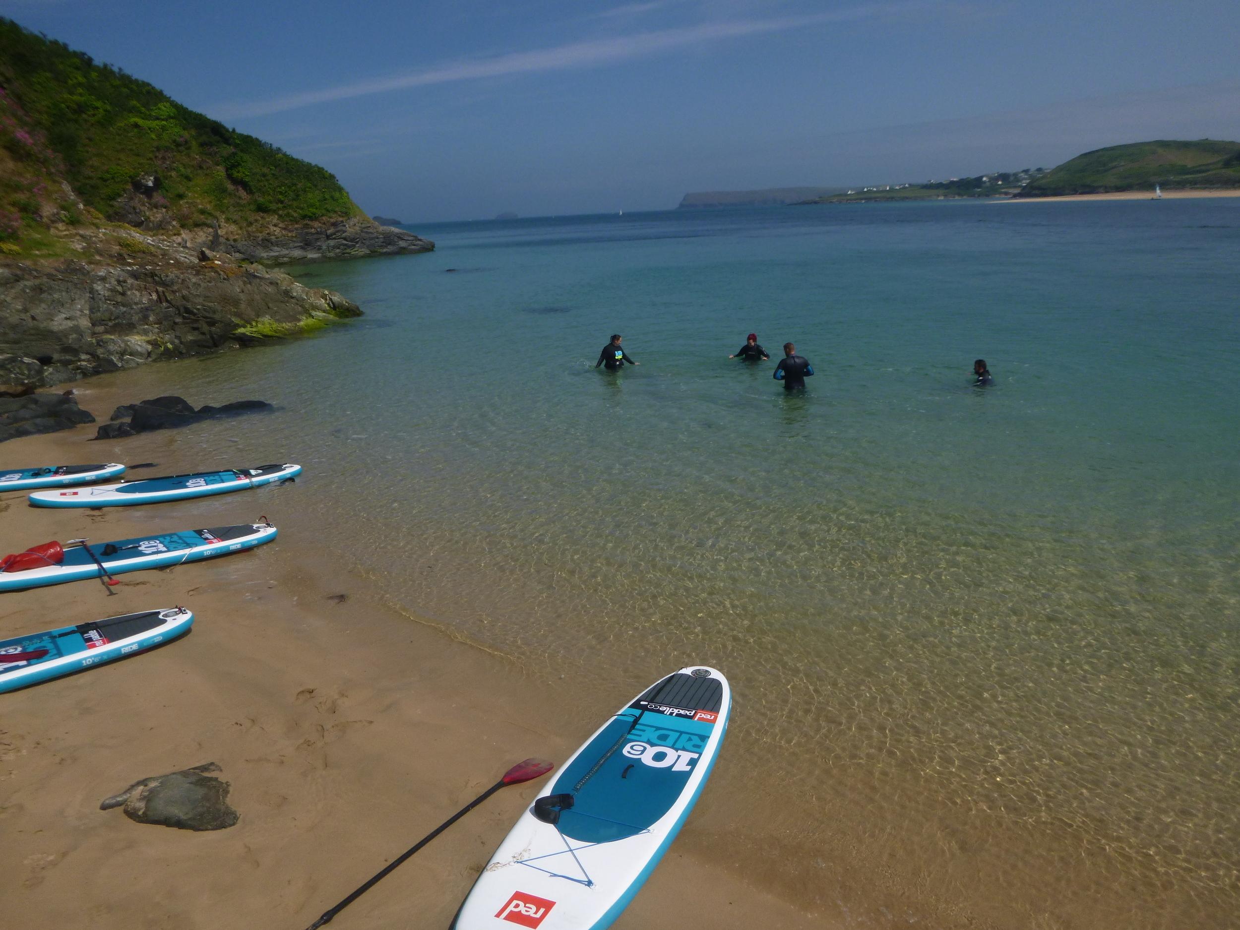#GoAnywhere - Explore Cornwall by SUP