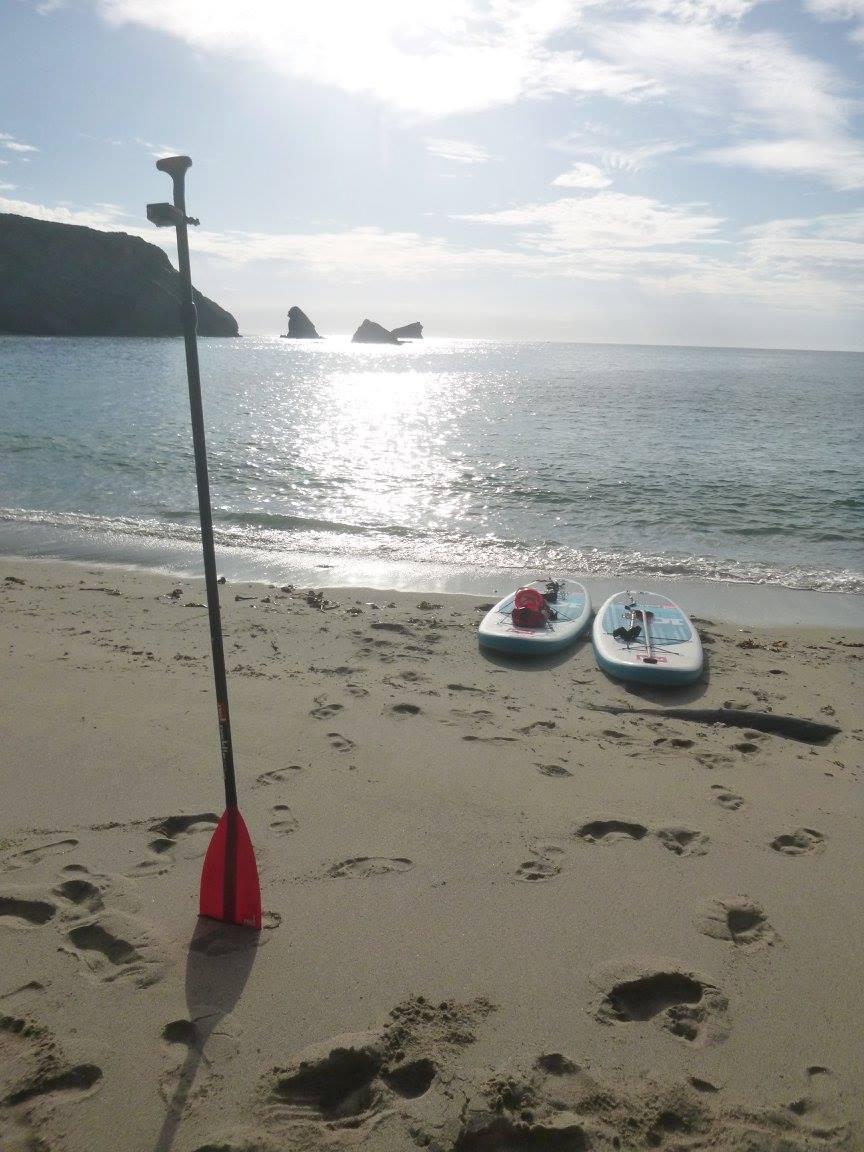 Portreath Cornwall SUP lesson