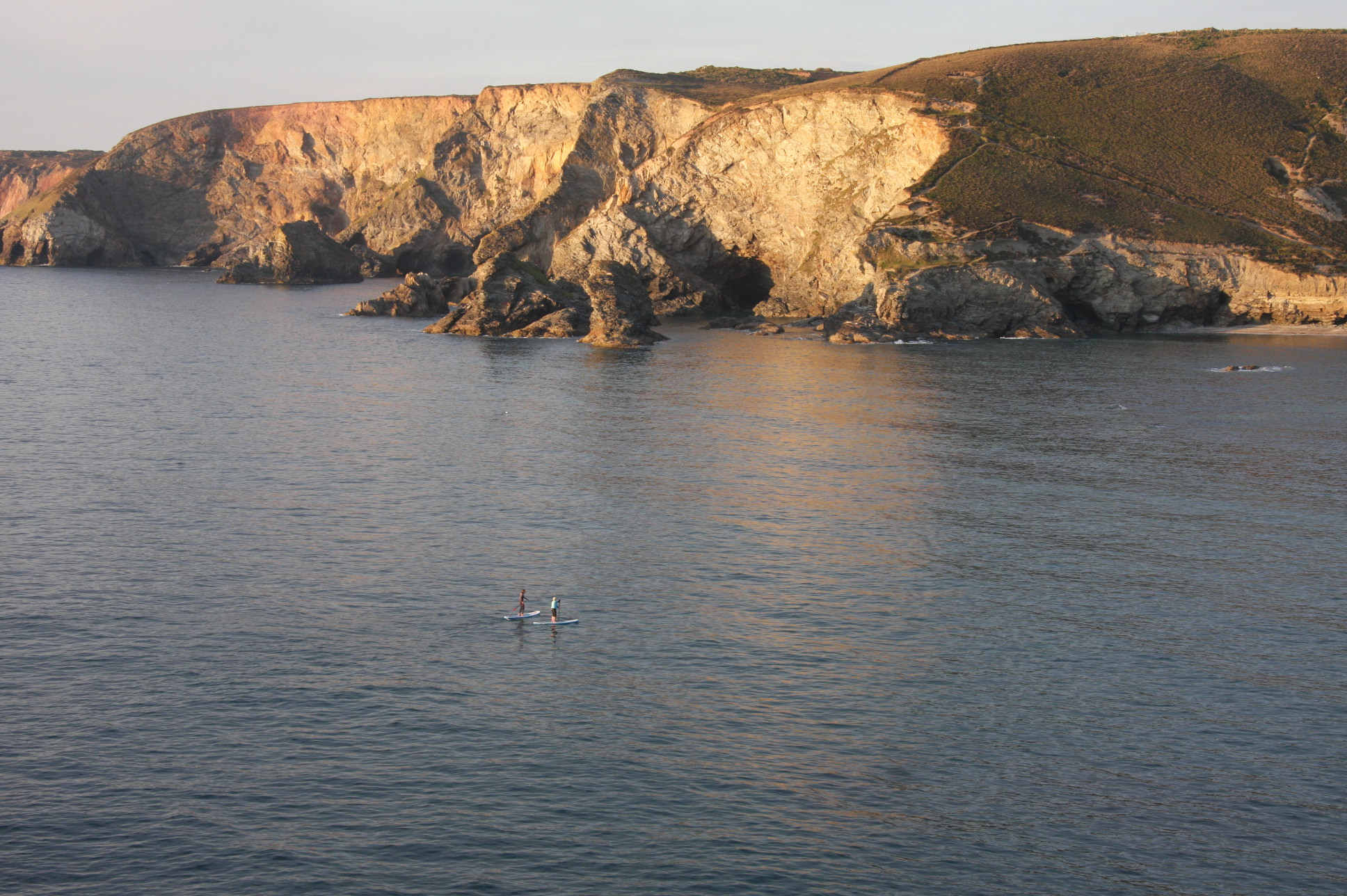 stand-up-paddle-sunset-cornwall
