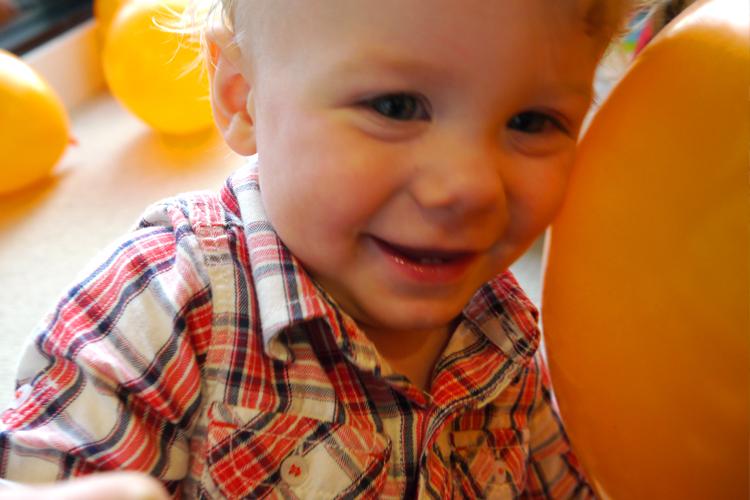 The joy of balloons