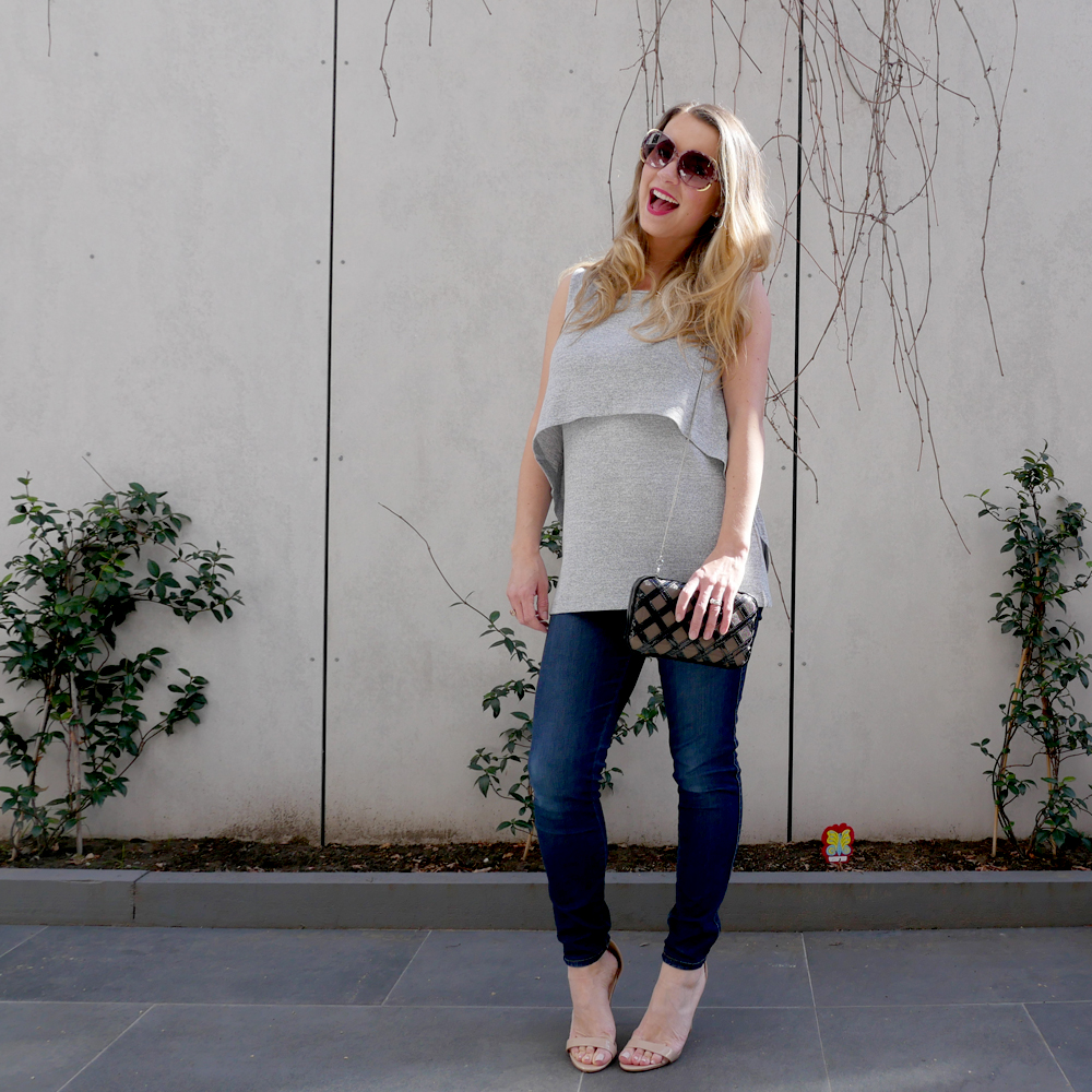 Ripe Maternity  Knit  and  Jeans