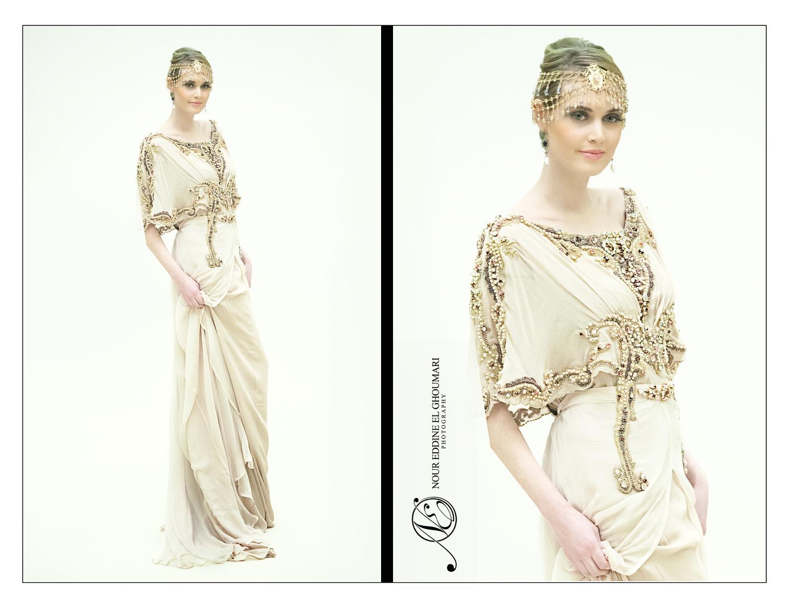 Caftan Haute Couture Fouzia Naciri - Créations originales personnalisées
