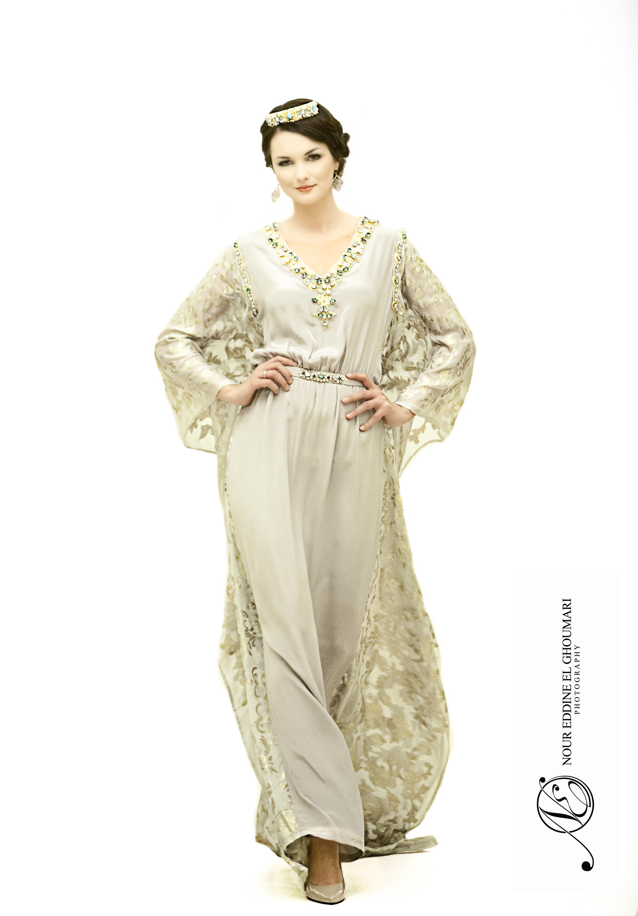 Caftan Haute Couture Fouzia Naciri - Elégance