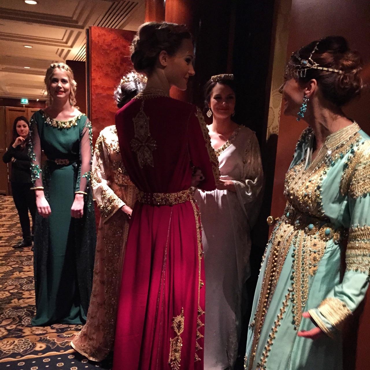 Coulisses Défilé Création Caftans Haute Couture Fouzia Naciri