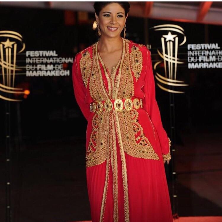 Créations Haute Couture Fouzia Naciri Festival International Film Marrakech